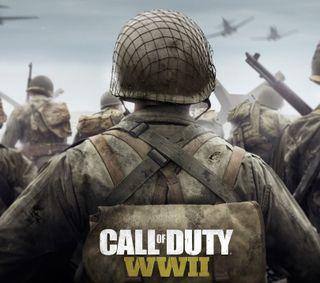 Обои на телефон стрелок, игры, война, wwii, ww2, fps, cod, call of duty wwii