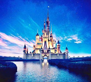 Обои на телефон магия, королевство, золушка, замок, дисней, disney, cinderella castle
