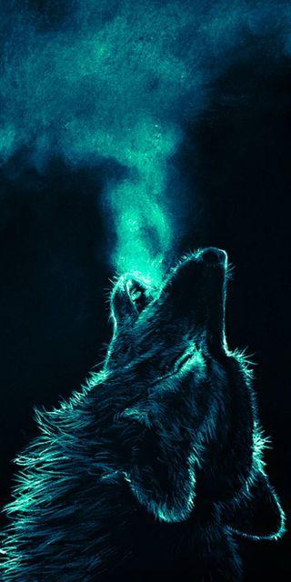 Обои на телефон дыхание, волк, вой, wolf breath