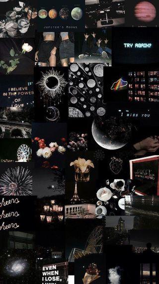 Обои на телефон эстетические, эмо, темные, подросток, ночью, милые, черные, ночь, late nights