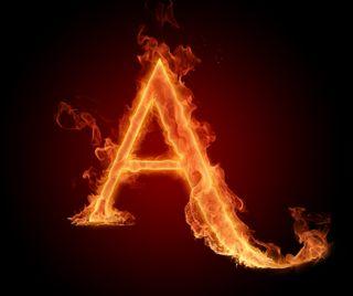Обои на телефон буквы, alphabet a