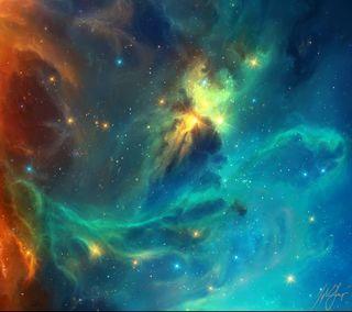 Обои на телефон космос, галактика, humo, galaxy s3, galaxy nexus, galaxy