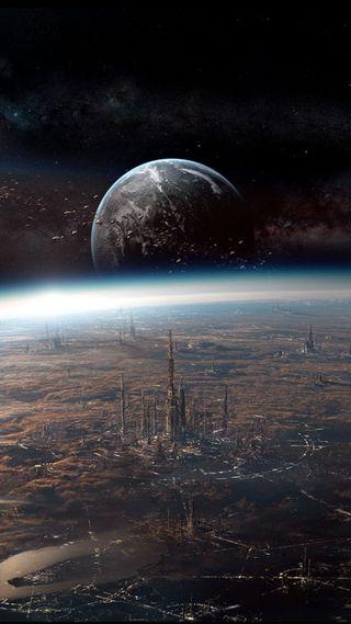 Обои на телефон фикция, наука, планета, futur