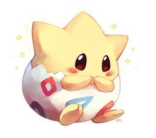 Обои на телефон видео, покемоны, нинтендо, милые, игры, togepi, nintendo