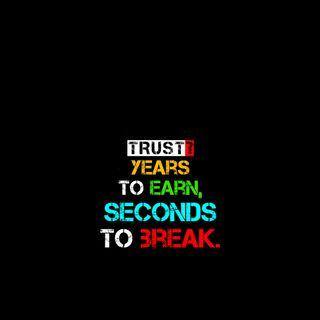 Обои на телефон сообщение, цитата, текст, слова, жизнь, доверять, trust years