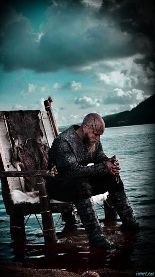 Обои на телефон викинги, черные, рагнар, море, крутые, классные, вид, ragnar lothbrok - hd, lothbrok, hd