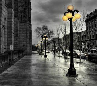 Обои на телефон путь, улица, прогулка, дорога, город, винтаж, vintage walk