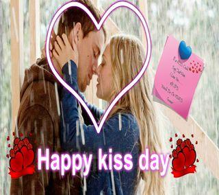 Обои на телефон обнимать, ты, счастливые, розы, поцелуй, пара, день, валентинка, happy kiss day, couple kiss