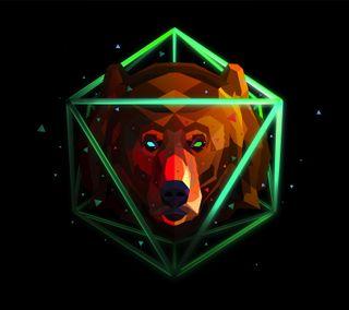 Обои на телефон медведь, ursus