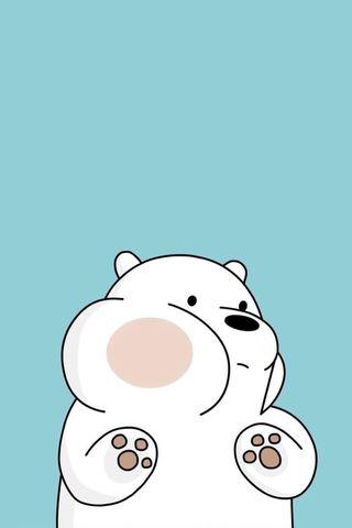 Обои на телефон привет, милые, медведь, лед, ice bear, hello