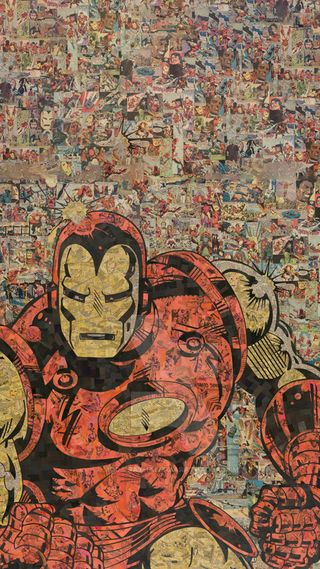 Обои на телефон эпоха, железный, мстители, марвел, комиксы, supehero, marvel, iron man comic, age of ulron