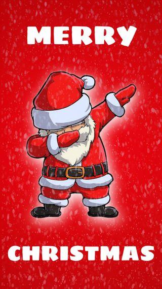 Обои на телефон счастливое, санта, рождество, красные, santaclaus