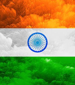 Обои на телефон индия, флаг, национальная, любовь, день, love, india day, 4k