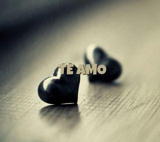 Обои на телефон amor verdadero, catolico, love, te amo, любовь, исус, фразы, сердца