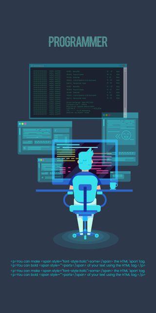 Обои на телефон код, темные, programmer, program, coding