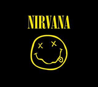 Обои на телефон смайлики, нирвана, музыка, мотивация, логотипы, 1990s