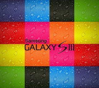 Обои на телефон кубы, цветные, самсунг, радуга, капли, галактика, samsung, s3, galaxy