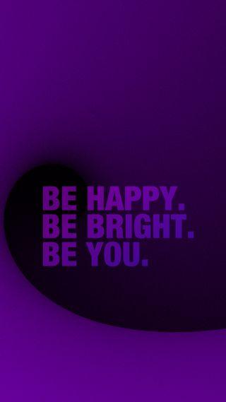 Обои на телефон яркие, цитата, ты, счастливые, поговорка, мотивационные, девчачие, будь, sayin, happy