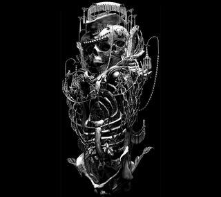 Обои на телефон иллюстрации, череп, музыка, дизайн, арт, абстрактные, art
