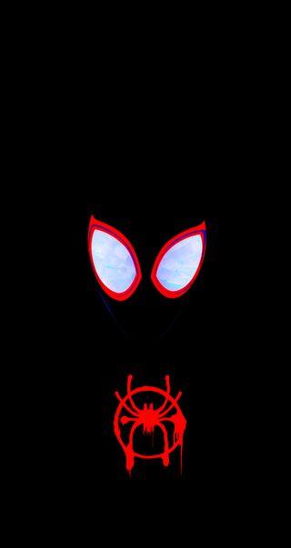 Обои на телефон черные, паук, марвел, spider man, marvel, man
