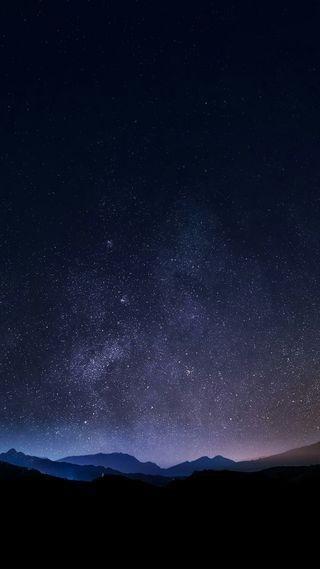 Обои на телефон военно морские, ночь, небо, звезды, звезда, горы, галактика, вечность, бирюзовые, lucid mountain, galaxy
