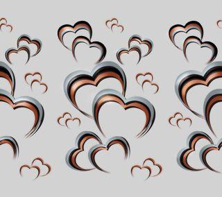 Обои на телефон птицы, любовь, дизайн, love 009, love