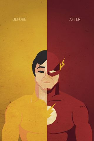 Обои на телефон флэш, супергерои