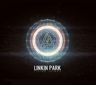 Обои на телефон группа, черные, цифровое, темные, свет, парк, музыка, логотипы, lp livingthings, linkin
