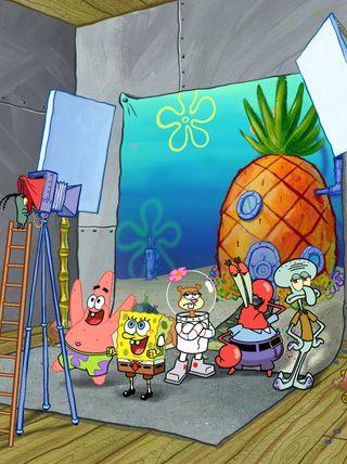 Обои на телефон губка боб, цветные, мультфильмы, милые, spongebob crew