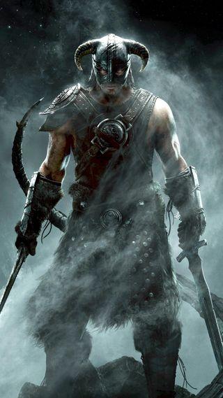 Обои на телефон скайрим, меч, игры, the elder scrolls, 1080x1920