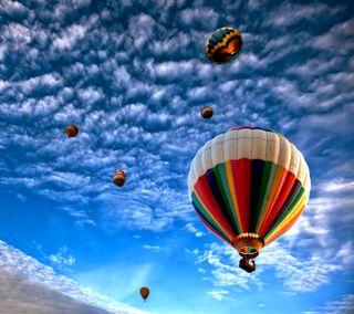 Обои на телефон красочные, airballoon