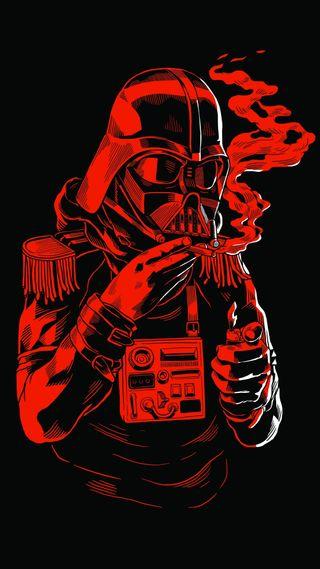 Обои на телефон престолы, темные, самурай, механизм, металл, лиса, игра, воины, бок, solid