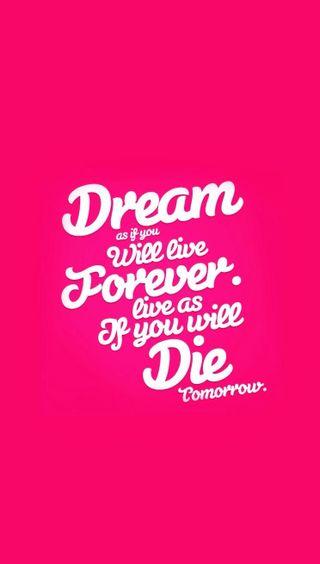 Обои на телефон мечта, цитата, умри, навсегда, крутые, высказывания, live quote, live