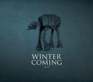 Обои на телефон фан, комедия, зима, звезды, войны, winter is comming, winter is coming sw, stars wars, at-at