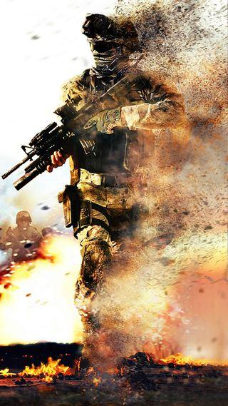 Обои на телефон солдат, сила, оружие, игра, война, бой, армия, ssg, man, commando