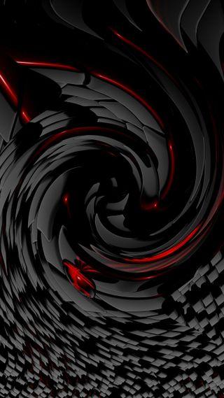 Обои на телефон спираль, черные, темные, амолед, абстрактные, dark spiral, amoled