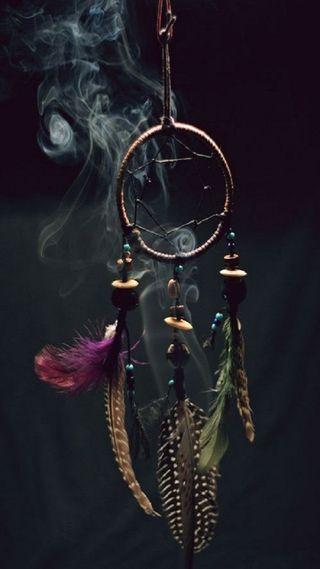 Обои на телефон мечта, ловец снов, ловец, дым, smokedreamcatcher