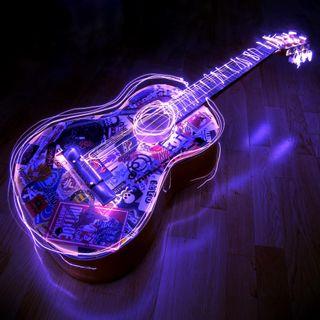 Обои на телефон гитара, xr, hm