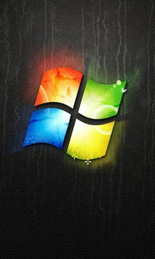 Обои на телефон цветные, логотипы, windows