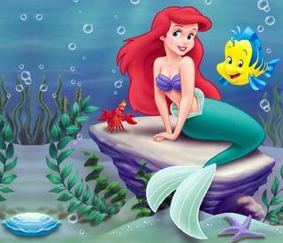 Обои на телефон русалка, маленький, мультики, the little mermaid
