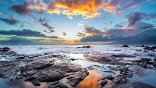 Обои на телефон спокойствие, природа, море, calm sea