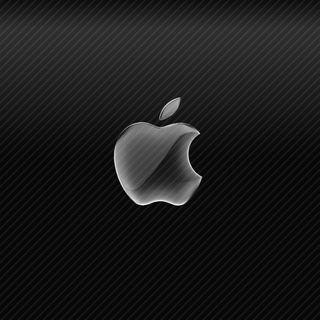 Обои на телефон стекло, эпл, черные, карбон, волокно, apple