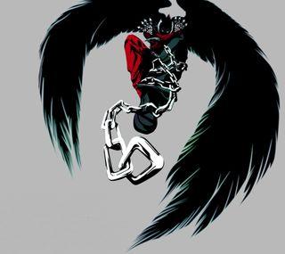 Обои на телефон демон, игры, ангел, tekken