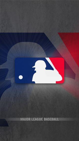 Обои на телефон логотипы, бейсбол, mlb logo, mlb