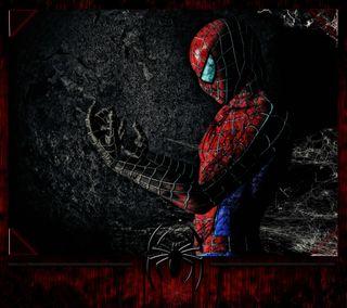 Обои на телефон человек паук, темные, развлечения