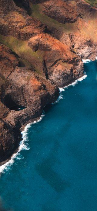 Обои на телефон редми, сяоми, самсунг, пляж, остров, море, горы, айфон, xiaomi, samsung, rocksea, redmi, iphone