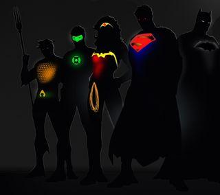 Обои на телефон чудо, женщины, темные, супермен, зеленые, герои, wonder women, hd, green lalten, dc heroes, dc
