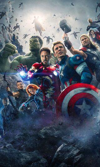 Обои на телефон эпоха, халк, ультрон, тор, мстители, марвел, герой, война, америка, marvel, avengers age ultron