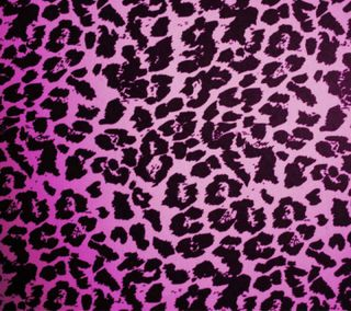 Обои на телефон фиолетовые, гепард