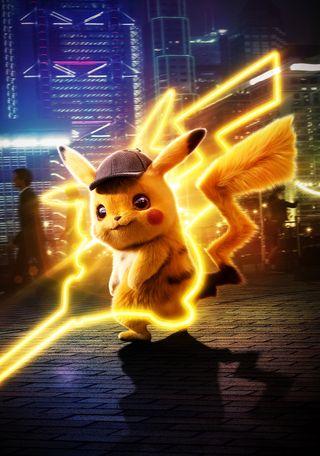 Обои на телефон покемоны, фильмы, пикачу, detective pikachu